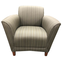 Gardner's Loewenstein Lounge Chair in Grey