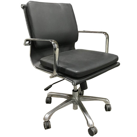 High Back Executive Chair In Black