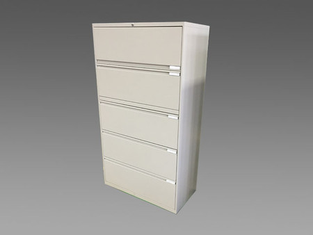 """OFS 36"""" Five Drawer Lateral File"""