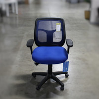 Eurotech Apollo Synchro Tilt Mid-Back Task Chair in Blue