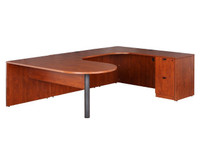 Express Laminate  U-shape D-top Desk