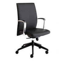 Compel Maxim™ Series Black Leather Executive Chair