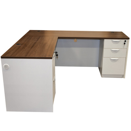 Express Lair Chassis Series L-Shape Desk