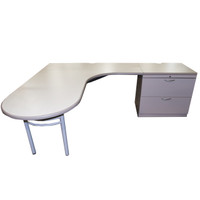 "Steelcase Avenir 72"" x 90"" L-Shape Desk"