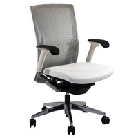 Global G20™ Series White Mesh Task Chair