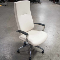 Global Karizma Series High Back Leather Executive Chair