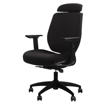 Eurotech FX2 Series Black Mesh Closed Back Task Chair