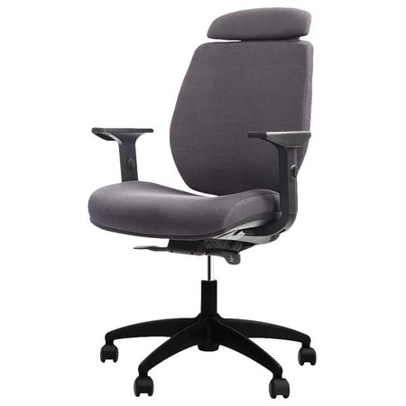 Eurotech FX2 Series Grey Mesh Closed Back Task Chair