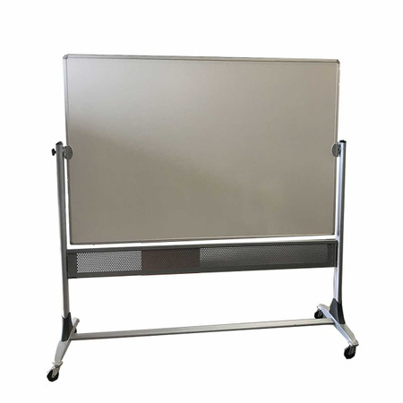 White Flip Marker Board On Casters