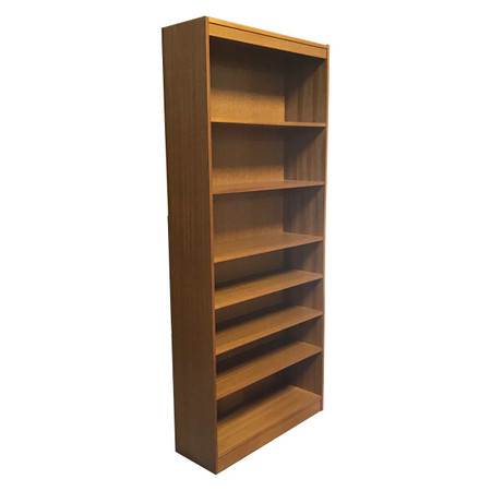 Global 7' Oak Bookcase