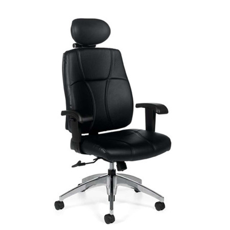 Offices To Go Leather Executive Task Chair