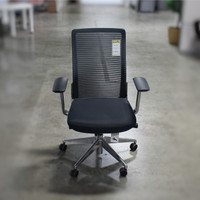 Cherryman Eon Series Black Mesh Back Executive Task Chair