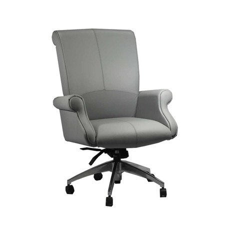 Global Beacon Series High Back Leather Conference Chair