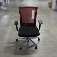 AIS Upton Task Chair With Mesh Back & Aluminum Base
