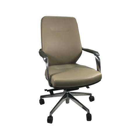 Buzz Leather On Demand Mid-Back Task Chair