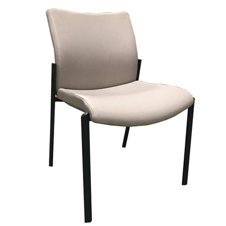 SitOnIt Tan Guest Chair Upholstered Fabric