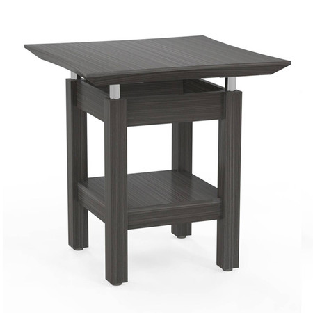 Mayline Sterling End Table Featured In Driftwood Finish