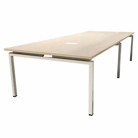 Clear Design Blade Series 10' Conference Table Featured In Asian Sand
