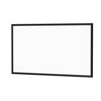 Da-Lite Case Color Pro Trim Black Fabric Projector Screen
