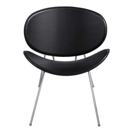 Safco Sy Series Guest Chair Featured In Black