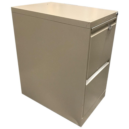 Global 1900P 2 Drawer lateral File In Tahitti Sand Finish