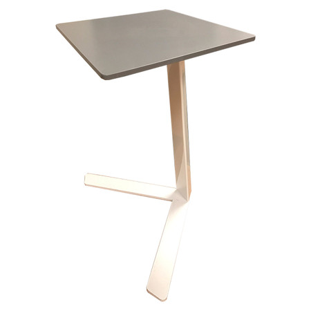 Leland International Quarry Collection Collaborative Mobile Tablet Stand Featured In Corian Grey
