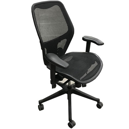 Mesh It Series High-Back Task Chair With Height Adjustable Arms & Lumbar Support