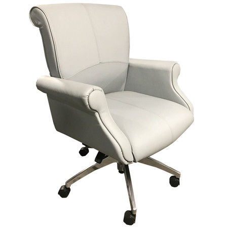 Beacon Series Low-Back Conference Chair In Slate