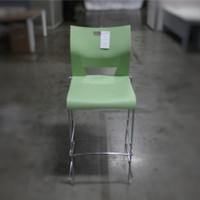 Green Plastic Stackable Chair