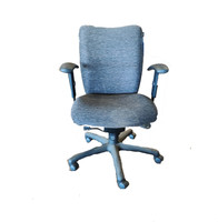 National Mix it Grey Fabric Task Chair