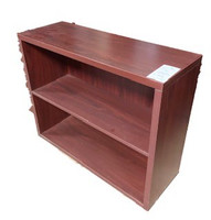 Mahogany 2 shelf bookcase
