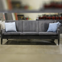 Bright 6984 Dark Gray 3 cushion sofa