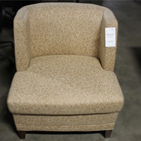 Steelcase 385 Tan club chair