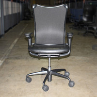 Allsteel Black Mesh Chair
