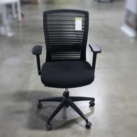 Natick Series Basic Standard Black on Black Mesh Back Task Chair  *BASE/STANDARD PRICE