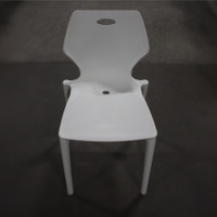 Eurotech Kradl Stack Chair - White