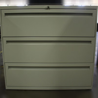 3 Drawer Putty Lateral File