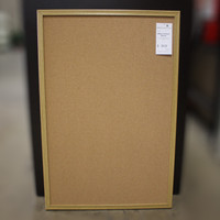 3'x2' Cork Board w/Wood Trim