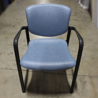 Haworth Improv Blue Guest Chairs