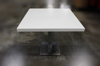 "36"" Sq, Break Room Table White"