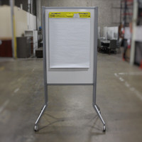 "48""X34"" Mobile White Board"