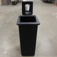 Trash Container - Black