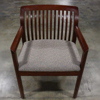 Kimball Slat Chair Gray/Cream 1