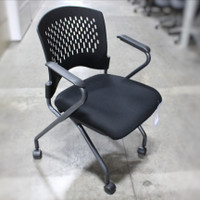Flip Chair Black Fabric 1
