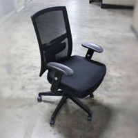 Black AR-1509 task chair