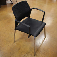 Sitmatic Black Stack Chair