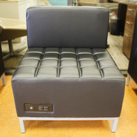 COE OfficeSource Millennial Collection Armless Chair with Power Outlet