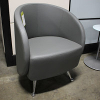 Express Office Furniture Contemporary Curved Club Chair