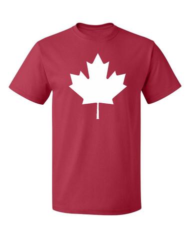 Canada maple leaf flag T-Shirt, red
