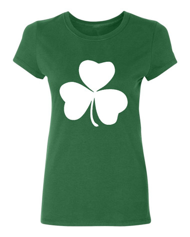 Irish shamrock Ladies T-Shirt, green